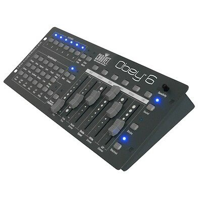 Chauvet Obey 6 Universal DMX Lighting Controller for LED Lighting Effects FX