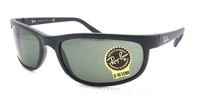 Ray Ban 2027 W1847 62mm Predator 2 Matte Black G15 New 100% Authentic