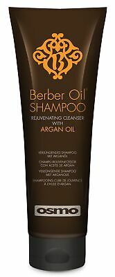Osmo Berber Oil Shampoo With Argan Oil Infuses Hair Moisture & Hydration 250ml