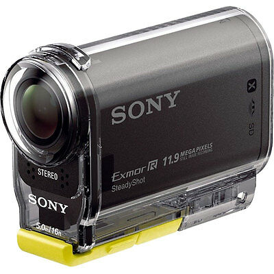 Sony Action Cam HDR-AS20 Wi-Fi 1080p HD Video Camera Camcorder NEW USA