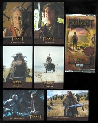 Hobbit An Unexpected Journey Base Card Set (101 Cards)