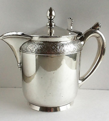 ROGERS SMITH CO  MERIDEN CT 1939 QUADRUPLE  STAMPED SILVER PLATED CREAMER