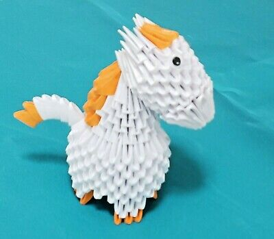 3D Origami Horse Pony - A Great Gift!