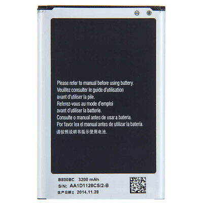 New 3200mAh Battery for Samsung Galaxy Note3 N9000 N9005 + Wall Charger