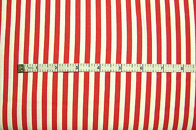 RED AND WHITE STRIPE  BTY