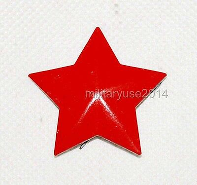 Original Chinese Army PLA Cap Badge Red Star for Hat - CN007