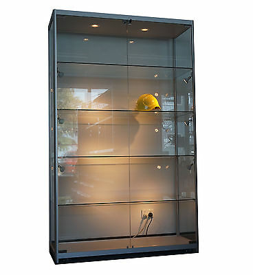 1.2m x 1.98m Glass Showcase/Cabinet