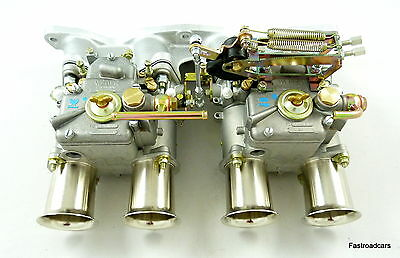 Weber Twin 45 Dcoe Carburettor Kit Ford 2.0/2.1 Ohc Pinto Escort-Capri-Kitcar