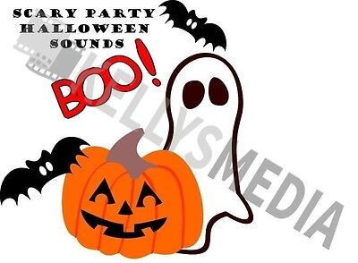 halloween sounds effects cd spookyhorrorcreepytrick or treat boo