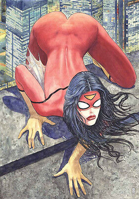 Spider-Woman #1 Milo Manara Controversial Variant Comic + All Covers (6 books)