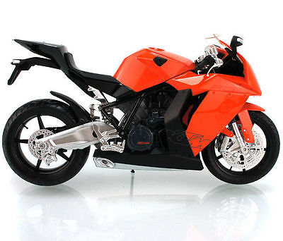 M011-2 Joycity 1:12 KTM RC8 Orange Motorcycle Model Diecast Toy Gifts For Kids