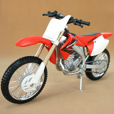 M038-1 Maisto 1:12 Honda CRF450R Red Off-Road Motorcycle Model Diecast Kids Toy