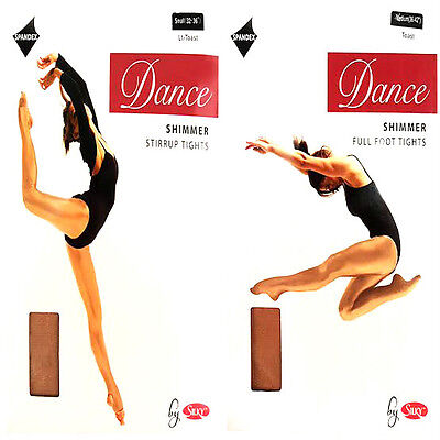New Womens Ladies Childrens Dance Tights Stirrup Full Foot Strong Thick Shiny