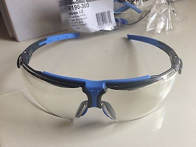 Safety Glasses. Uvex i-3. Clear safety Glasses. German made AS approved