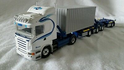 HEAVY HAULAGE TEKNO SCAN IS 620 HILINE WITH SELLY TRAILERS &1CONTR CODE3