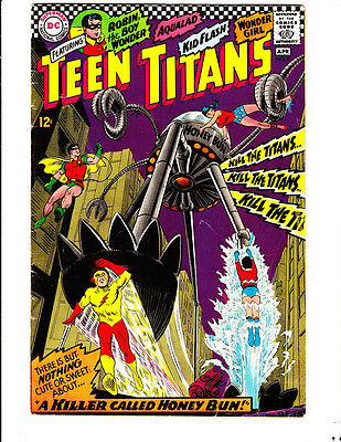 Teen Titans 8 (1967): FREE to combine: in Very Good condition