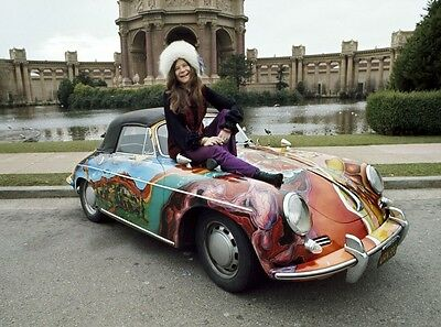 Janis Joplin Car 8X10 Glossy Photo Picture