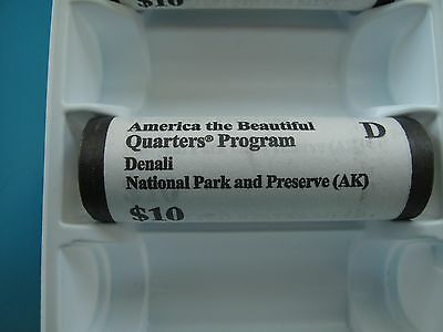 2012-D Denali National Park (Alaska) Original U.s.mint Roll Quarter Uncirculated