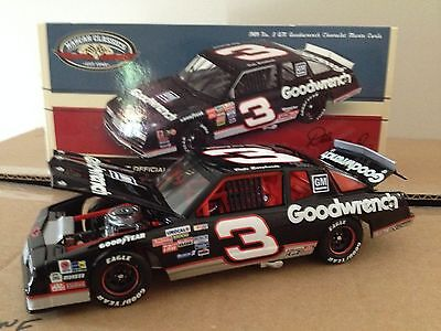 DALE EARNHARDT 1989 GOODWRENCH MONTE CARLO 1/24 1 OF 6749 SHIP FROM CANADA