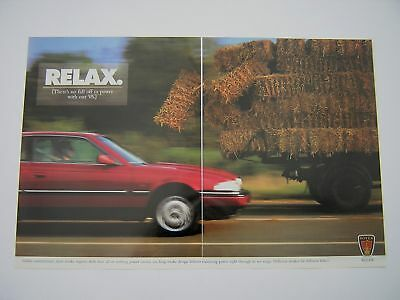 Rover V6 Advert from 1997 - Original article