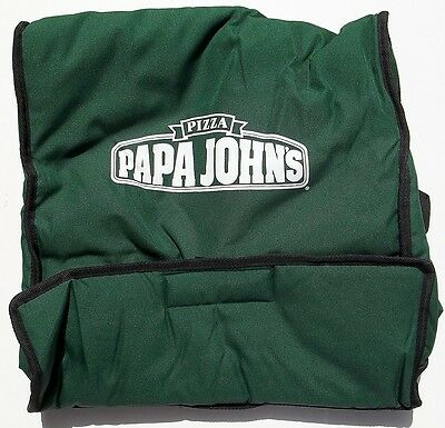 "Papa John's Insulated Pizza Delivery Bag  21 1/2"" x 19 3/4"" x 7 3/4"""