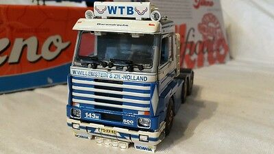 """HEAVY HAULAGE TEKNO SCANIA 143 500 (STUNNING EXAMPLE ) TAUT TRAILER  """"WBT"""""""