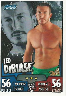 WWE Topps Slam Attax Rumble Trading Card Ted DiBiase