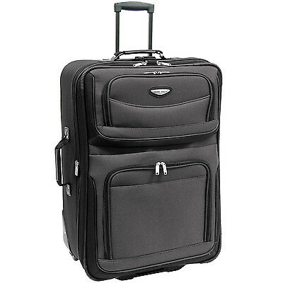 Travel Select 29in Gray/Grey Amsterdam Rolling Luggage Light Suitcase Travel Bag