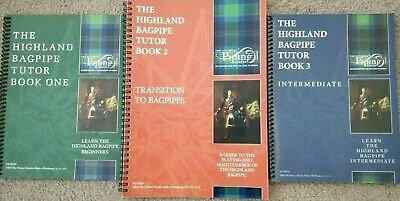 Apprendre Jouez Highland CORNEMUSES College of Piping Tutor livres No1 Vendeur