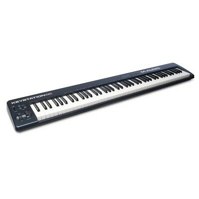 M-Audio Keystation 88 MKII USB MIDI Velocity Sensitive Keyboard Controller MK2
