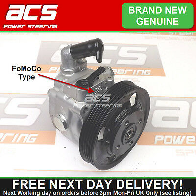 BRAND NEW - FORD MONDEO MK4 2.5 POWER STEERING PUMP 2007 TO 2010 (FoMoCo Type)