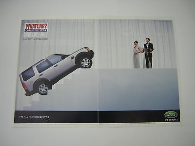 Land Rover Discovery 3 Advert from 2005 - Original