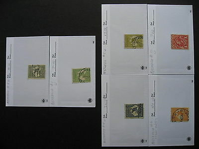 Hoard breakup sales cards AUSTRALIA part 1of6 Possible misidentified &mixed cond