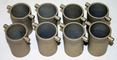 "Iec Cups, Model 362, 6 ½"" Babcock Bottle,  Bag Of Eight, Matched Weights, New"