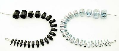 BOTH Sets Inch & Metric Fastener SWTC-M21 SWTC-S21 Nut And Bolt Thread Checker
