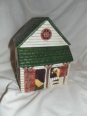 Block Country Village by Gear Sugar Canister with Lid