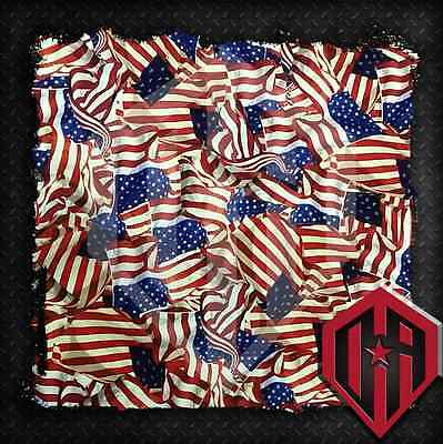 Hydrographic Water Transfer Hydrodip Hydrodipping Film Hydro Dip American Flag