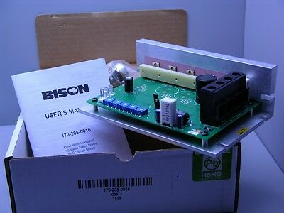 Bison Gear and Engineering 170-205-0016 10-32VDC Input 16A Out Low Voltage PWM D
