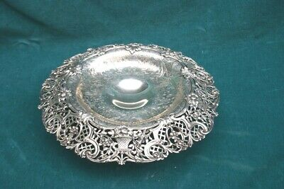 Tiffany & Co. Circa 1900 Sterling Silver Repousse Center Bowl   MAGNIFICENT