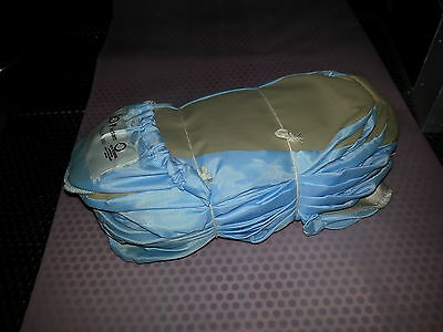 Lot of 12 New Vidaro ESC-3311-T Small Clean Room 100% Polyester Boot/Shoe covers