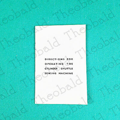 Manual/instruc Book Cylinder/torpedo Shuttle Sewingmachine Fits Singer 128K,127K