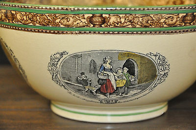 """Adams China 10"""" Large Bowl in the Cries of London Pattern"""