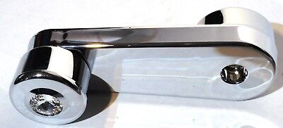 window crank clear jewel chrome plastic slotted Freightliner Classic FLD 1994+