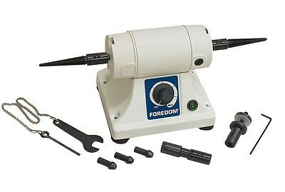 FOREDOM Bench Lathe K.3340 Bench Motor Kit BL 1 Polishing Lathe with Attachments