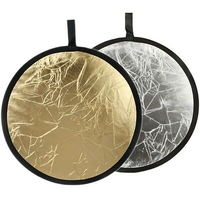 """2in1 43"""" 110cm Light Mulit Collapsible Disc Reflector Photograph Studio Lighting"""