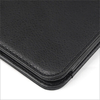 TRIXES Black Leather Stand Case Cover for Samsung Galaxy Tab 2 10.1