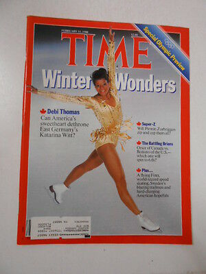 TIME MAGAZINE 1988 FEBRUARY 15 WINTER OLYMPIC PREVIEW ASSISTED SUICIDE BABY M
