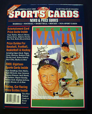 MICKEY MANTLE COVER  Sports Cards w/ & 1910 Era Baseball Reprints & Griffey Card