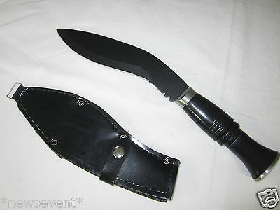 Stainless Steel Ghurka Kukri Knife & Sheath [Sword/Machete/Dagger] A43