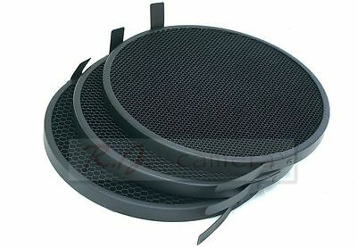 """Honeycomb Grid set 169mm 30 20 and 12  fit for 18cm 7""""  Elinchrom Reflector"""